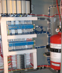 Cabinet Fire Suppression System